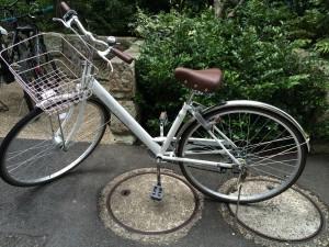 ユウコの自転車
