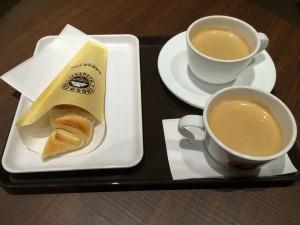 塩ミルクチョコクロ@サンマルクカフェ